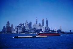Found Photo - New York City, 1953 (Mark 2400) Tags: found photo new york city lower manhattan skyline 1953