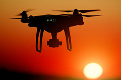 Silhouette of drone at sunset, orange sky (wuestenigel) Tags: drones silhouette sunset quadcopters technology sky surveillance uav dji sonnenuntergang dawn dämmerung sun sonne noperson keineperson himmel flight flug dusk airplane flugzeug water wasser evening abend backlit hinterleuchtet helicopter hubschrauber travel reise aircraft silhouetted silhouettiert nature natur illustration sea meer beach strand 2019 2020 2021 2022 2023 2024 2025 2026 2027