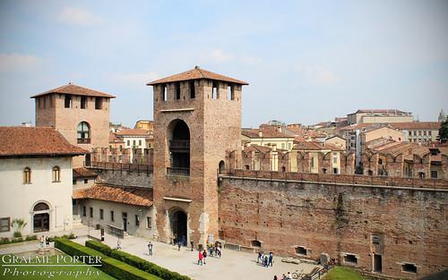 Castelvecchio Walls - IMG_1732 - Edited