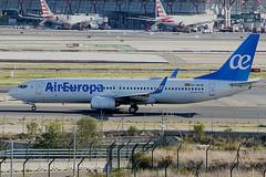EC-MXM | Air Europa | Boeing B737-85P(WL) | CN 60591 | Built 2018 | MAD/LEMD 25/09/2019 (Mick Planespotter) Tags: aircraft airport 2019 sharpenerpro3 nik adolfosuárez barajas madridbarajas madrid b737 b738 spotter aviation avgeek plane planespotter airplane aeroplane ecmxm air europa boeing b73785pwl 60591 2018 mad lemd 25092019