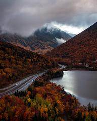 Franconia Notch (TomBerrigan) Tags: new hampshire foliage fall autumn nh franconia notch cannon echo lake i93