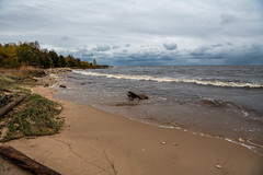 20191013-_D856104.jpg (cschafe07) Tags: seasons fallcolors stormy weather lakeviewpark manistique lakemichigan unitedstates fall places michigan