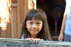 cute girl (the foreign photographer - ฝรั่งถ่) Tags: cute girl child khlong portraits thailand nikon bangkok lard bangkhen d3200 phrao happyplanet asiafavorites
