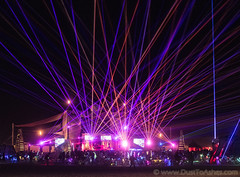 Esplanade Laser Show, Burning Man 2019 (Dust To Ashes) Tags: burningmanfestival burningman2019 burningman metamorphoses theme burning man bm2019 2019 dust ashes dusttoashes wwwdusttoashesnet sculpture sculptures installation installations surreal playa desert nevada gerlach nv blackrockcity brc art burningmanart desertparty photography photos photo pictures ales esplanade laser show night colors pics picture beams party