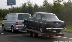 Rover P5 3.5 Litre V8 1969 (Wouter Bregman) Tags: 0360mj rover p5 35 litre v8 1969 roverp5 3500 remorque aanhanger a4 schiphol nederland holland netherlands paysbas vintage old classic british car auto automobile voiture ancienne anglaise uk brits vehicle outdoor