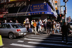 SLOW (GPhace) Tags: 2019 35mm brooklyn e100 ektachrome100 filmphotography kodak madewithkodak minoltax700 nyc newyorkcity slidefilm filmgrain manualfocus streetphotography