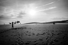 Mui Ne (kuuan) Tags: voigtländerheliarf4515mm manualfocus mf voigtländer15mm aspherical f4515mm superwideheliar apsc sonynex5n bw vietnam sand sanddunes muine people shadow contrejour silhouette