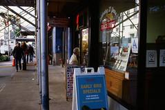 Taking a look (GPhace) Tags: 2019 35mm brooklyn e100 ektachrome100 filmphotography kodak madewithkodak minoltax700 nyc newyorkcity slidefilm filmgrain manualfocus streetphotography