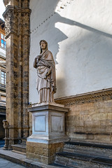 Florence Morning Gaze (ken mccown) Tags: florence firenza italy architecture sculpture statue