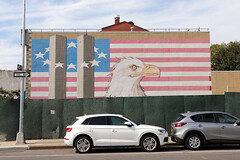 9/11 Mural (jschumacher) Tags: nyc brooklyn mural flag americanflag 911 eagle