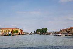 Por el Gran Canal (4) (Explore Oct-15-2019) (José M. Arboleda) Tags: arquitectura edificio cielo nube agua vía calle canal torre venecia italia samsung galaxy s7edge smg935f josémarboledac