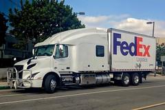 FedEx Logistics (So Cal Metro) Tags: fedex federalexpress cargo courier freight delivery logistics volvo truck sandiego