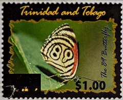 Trinidad and Tobago the 89 Butterfly
