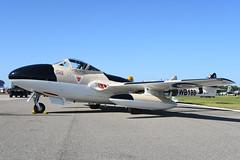 N23105 De Havilland DH115 Vampire T.55 KLAL 12-04-18 (MarkP51) Tags: lakeland linder usa plane airplane airport nikon florida aircraft jet airshow warbird lal klal sunnfun markp51 sunshine sunny d7200 nikon24120f4vr vampire dehavilland t55 dh115 n23105
