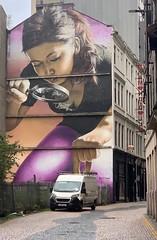I want that one (markshephard800) Tags: female giant smug street road whitevan van art mural city scotland urban glasgow