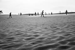 Mui Ne (kuuan) Tags: voigtländerheliarf4515mm manualfocus mf voigtländer15mm aspherical f4515mm superwideheliar apsc sonynex5n bw vietnam sand sanddunes muine people shadow contrejour silhouette blur oof bokeh