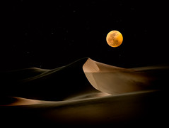 One Thousand and One Nights (ShutterJack) Tags: astronomy beautyinnature california dark deathvalley desert dune fullmoon landscape lowkey moon moonlight moonrise nature night nightsky outdoors roomforcopy sand shadows stars starscape tranquilscene