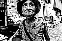 Close Up Tokyo (Victor Borst) Tags: paars street streetphotography streetlife reallife real realpeople asian asia asians faces face old oldlady provoke portrait candid city cityscape citylife fuji fujifilm xpro2 expression expressions mono monotone monochrome urban urbanroots urbanjungle blackandwhite bw beautiful beauty japan japanese tokyo