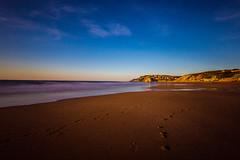 Baskenland0157Sopela (schulzharri) Tags: baskenland basque spanien spain espana bilbao reise travel strand beach meer ocean atlantik sonnenuntergang felsen rock water himmel wasser sky
