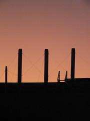 DSCF3436 (Benoit Vellieux) Tags: france lyon 2èmearrondissement 2nddistrict perrache cheminée chimney schornstein contrejour backlight gegenlicht