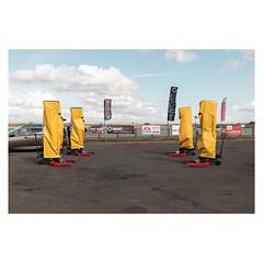 Robot Wars (John Pettigrew) Tags: tamron d750 nikon trucks mundane documentary snetterton banal machinery topographics observations deserted imanoot ordinary 2019 johnpettigrew racing