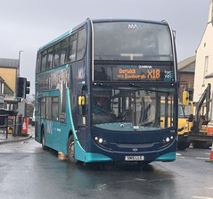 Arriva North East 7556 SN15 LLG (15/10/2019) (CYule Buses) Tags: servicex18 arrivabus arrivamax arrivanortheast enviro400 alexanderdennis alexanderdennisenviro400 sn15llg 7556