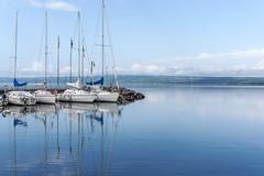 Bolsena Port (rickmcgrath383) Tags: bolsena italia italy lagodibolsena portodibolsena viterbo lake marina port