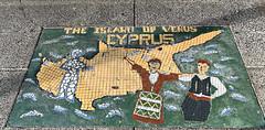 2019 Cyprus - The Island of Venus (dominotic) Tags: 2019 mosaic sydney australia tiles footpath innerwestsydney marrickvillerdmarrickville cyprustheislandofvenus iphonexsmax
