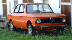 BMW 1502 (vwcorrado89) Tags: bmw 1502 1602 1802 2002 02 rust rusty abandoned wreck
