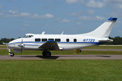 N772S De Havilland Riley Dove 400 KLAL 14-04-18 (MarkP51) Tags: usa plane airplane airport florida aircraft airshow lakeland lal klal sunnfun linder sunshine nikon sunny d7200 nikon70200f4vr markp51 riley dove dehavilland n772s 400