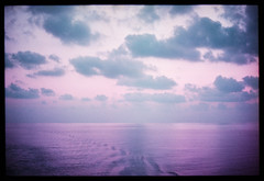 italian seascape (Lomochrome Purple) (mmartinsson) Tags: nikkor50mmf14 lomography 35mm ocean sunset clouds mediterranian nikonf3 lomochromepurple sky epsonperfectionv700 analoguephotography 2019 film scannegative messina italien