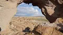 Through the arch (Chemose) Tags: sony ilce7m2 alpha7ii mai may bolivie bolivia lapaz uyuni paysage landscape rivière désert rio river arche arch pierre stone altiplano trou hole