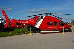 C-GCIQ (Canada - Coast Guard) (Steelhead 2010) Tags: canada coastguard departmentoftransport bell 429 helicopter yxu creg cgciq