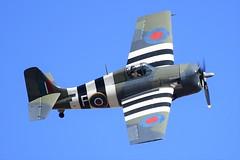 BAC_1627 (chris murkin) Tags: navy hmstracker wwii warbird warbirds duxford aircraft airshow airshows attack display fighter grumman wildcat fm2 grumw jv579