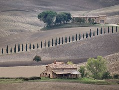 Val d'Orcia (Jolivillage) Tags: jolivillage paysage landscape paesaggio valdorcia pienza toscane tuscany toscana italie italy italia europe europa maisons houses case picturesque geotagged campagne campagna ifs cyprés cipressi fabuleuse