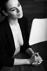 Wonderful Safo - last saturday (6/68262) (KnutAusKassel) Tags: frau woman girl female femme model fotomodel photomodel beauty schönheit fineart art bw blackandwhite blackwhite nb noirblanc monochrome black white schwarz weiss blanc noire blanco negro schwarzweiss grey gray grau einfarbig portrait gesicht face porträt safo safoluard safoluardmodel