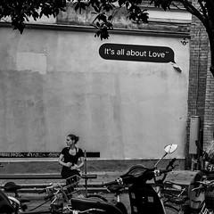 It's All About Love (walden.gothere) Tags: love fujifilmxpro1 fujinon fuji fujifilm xpro1 xmount fujinon35mm fujix 35mm 35 35mmf14 parisstreetphotography paris alone streephotography black white blackandwhite blackwhite blackandwhitestreet