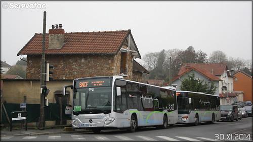 Mercedes-Benz Citaro C2 – Hourtoule (Groupe Lacroix) / STIF (Syndicat des Transports d'Île-de-France) / Plaine de Versailles n°H303