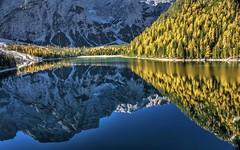 Alba (giannipiras555) Tags: alba lago braies montagna dolomiti alberi autunno riflessi natura paesaggio colori panorama landscape nikon elitegalleryaoi bestcapturesaoi aoi