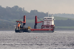 The Dutch-registered cargo ship Symphony Sea, IMO 9721657; Firth of Clyde, Scotland (Michael Leek Photography) Tags: ship merchantship cargoship cargovessel workingboat dutch thenetherlands clyde firthofclyde gourock inverclyde westcoastofscotland westernscotland scotland scottishlandscapes scottishcoastline scotlandslandscapes scottishshipping heavylift michaelleek michaelleekphotography