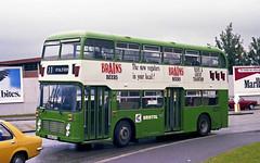 In aspic (Fray Bentos) Tags: ahw201v bristolvrt bristolomnibusco nationalbuscompany ecw unibusadvertisement
