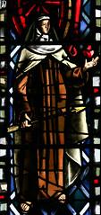 St Teresa of Avila (Lawrence OP) Tags: saints stteresa avila stainedglass stdominics sanfrancisco carmelite nun mystic heart doctorofthechurch