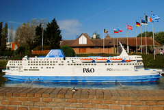 Mini-Europe - Pride of Dover (zawtowers) Tags: brussels bruxelles belgium capital city exploring holiday break sunday 13th october 2019 dry sunny blue skies sunshine minieurope attraction miniature reproductions european europe tour landmarks heysel district spirit dover po ferry ship large