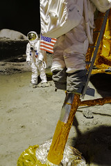 Moon (Robby van Moor) Tags: moon rocket lunar landing first man step mankind