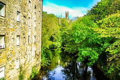Water of Leith At Dean Village (Brian Travelling) Tags: scotland waterofleith pentaxkr trees building edinburgh dean deanvillage