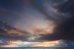 After The Rain, Portencross (mark_mullen) Tags: portencross isleofarran rain sky storm stormy sea firthofclyde clouds autumn dramatic westcoast westkilbride scotland scottish scenery landscape dusk evening canon5dmk3 canon24105 markmullenphotography largs uk