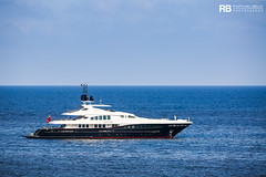 Let It Be - 48m - Heesen (Raphaël Belly Photography) Tags: rb raphaël raphael belly photographie photography yacht boat bateau superyacht my yachts ship ships vessel vessels sea motor mer m meters meter let it be heesen 48m 48 blue bleu white blanc bianco imo 1009261 mmsi 319023900