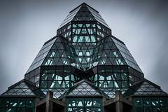 Dark Rōnin II (s.W.s.) Tags: sky architecture architectural city building glass urban longexposure neutraldensity abstract ottawa canada ontario nikon lightroom
