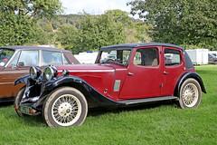 Riley Kestrel (1933) (Roger Wasley) Tags: 1933 riley kestrel agj88 prescott speed hillclimb classic car vehicle angloamerican autumn