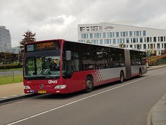NLD Qbuzz 3073 ● Groningen Europapark (Roderik-D) Tags: groningeneuropapark 3073 qbuzz30503077 bxgn20 mercedesbenz citaro3 qlink2 articulatedbus 644188 2009 dieselbus euro5 citaro2 o530g capacity45961 savas bege geledebus gelenkbus stadsbus citybus stadtbus 3axle 3doors ivu gorba
